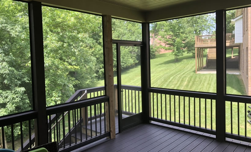 Ohio Fixed Porch Screens