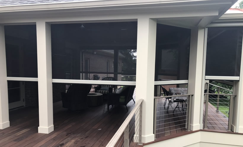 Retractable Porch & Patio Screens Ohio