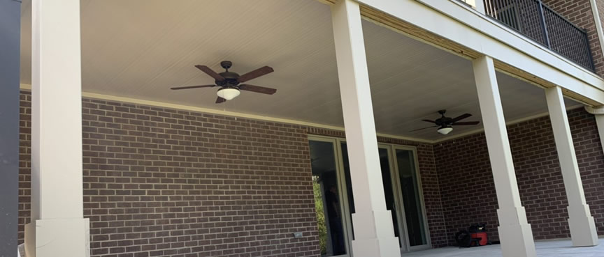 Deck ceiling system